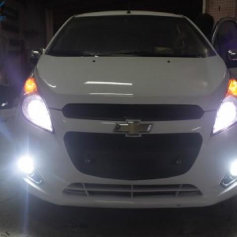 Độ Bi-xenon Q5 cho Chevrolet Spark