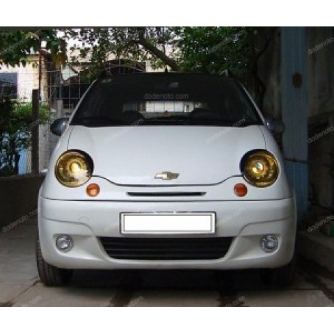 Độ đèn bi Xenon, Projector, Angel Eyes LED cho xe Matiz mẫu 1