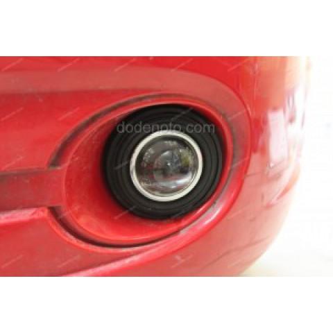 Độ đèn bi xenon, projector vào đèn gầm xe Matiz