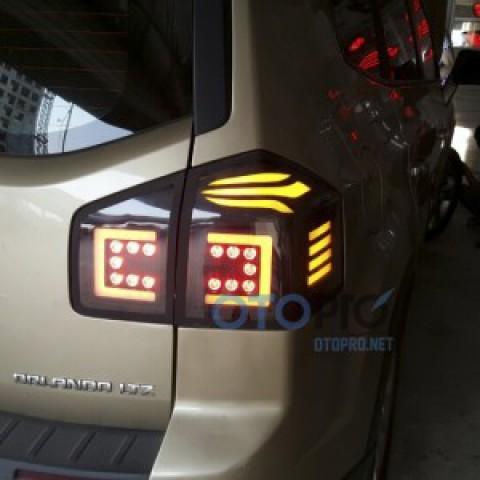 Độ đèn hậu LED cho xe Chevrolet Orlando 2015-2016