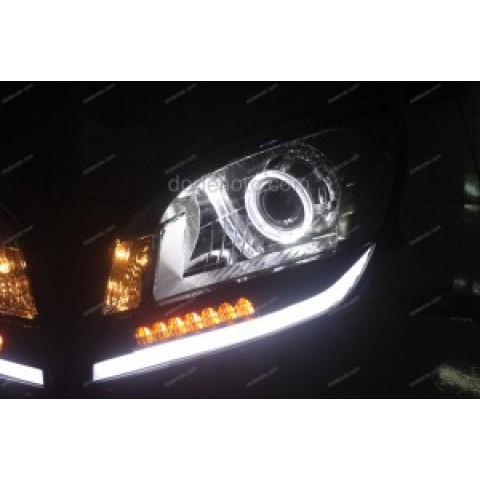 Độ đèn bi Xenon, Angel Eyes BMW, LED mí khối, Module xi nhan GTS Block xe Orlando