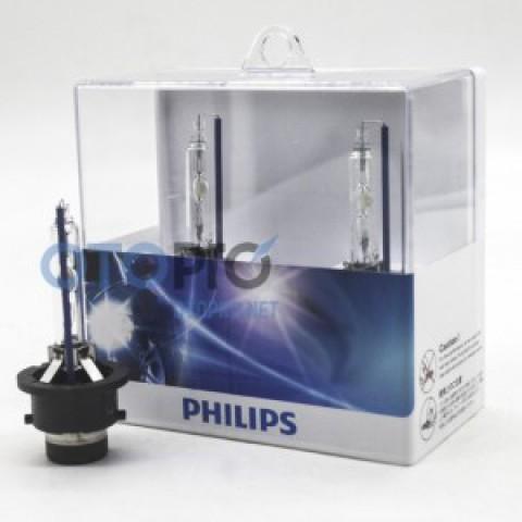 Bóng đèn xenon chân D4S ánh sáng 6000k chính hãng Philips