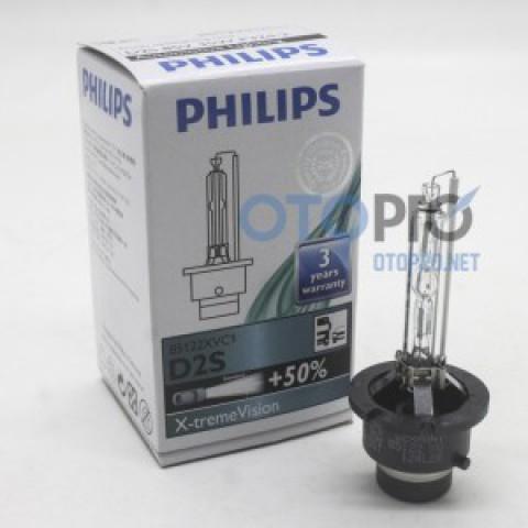 Bóng xenon tăng sáng D2S ánh sáng 4800K Philips chính hãng
