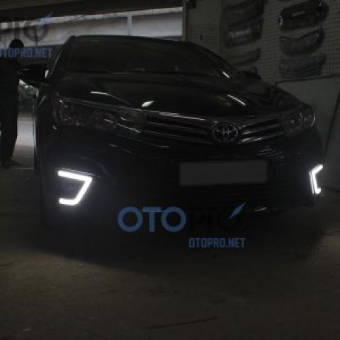 Đèn gầm LED daylight khối cho xe Altis 2014-2015
