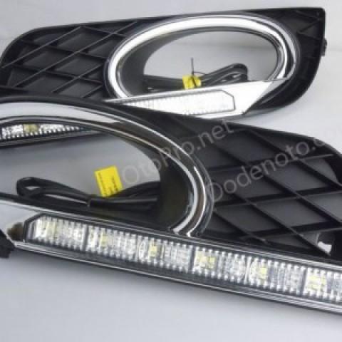 Đèn gầm LED nguyên bộ cho xe Civic 2012 mẫu 2