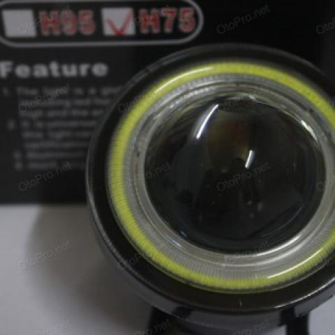 Đèn gầm siêu sáng Osram lắp chung mẫu 2