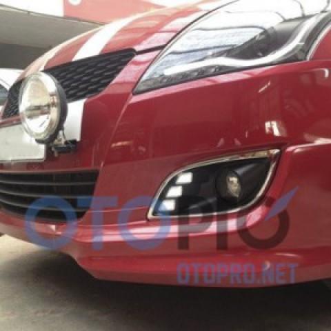 Đèn gầm độ LED daylight cho xe Swift 2012