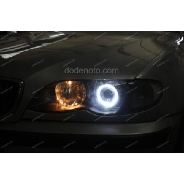 Độ vòng Angel Eyes LED cho xe BMW 325i