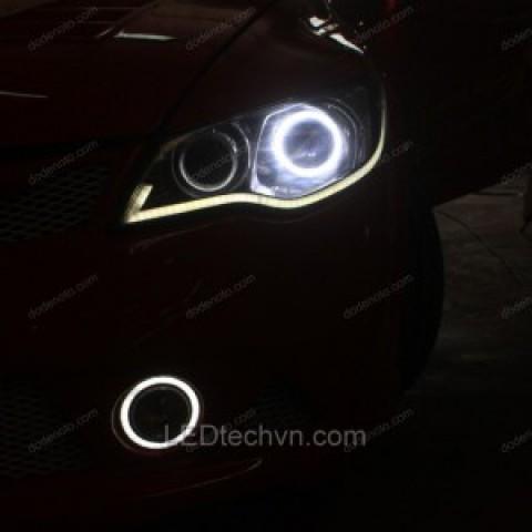Độ đèn bi Xenon,Angel eyes,LED mí khối ,đèn gầm khối cho Civic