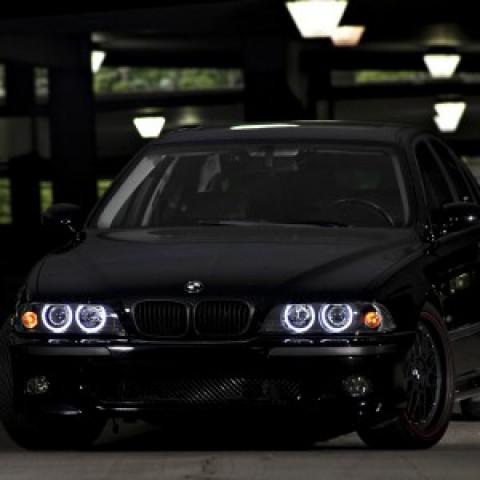 Độ đèn bi xenon, projector cho BMW