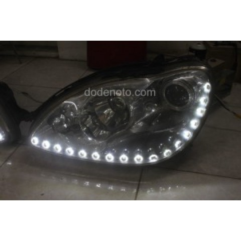 Độ dải LED mí Oblock cho Mercedes S500