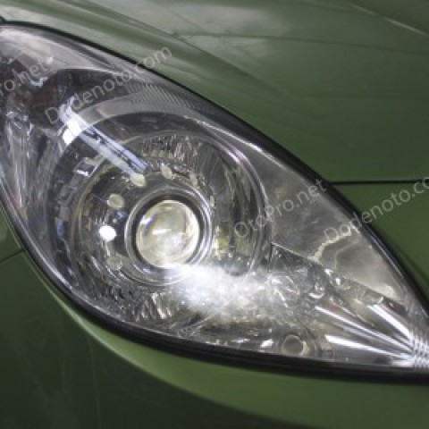 Độ đèn bi xenon, projector cho xe Hyundai I20