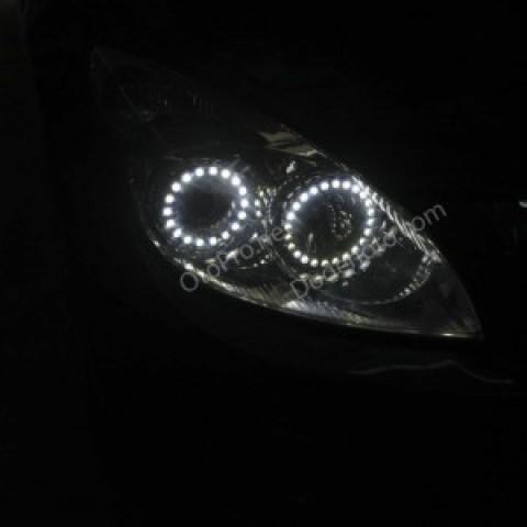 Độ vòng angel eyes lens cho xe Hyundai I30