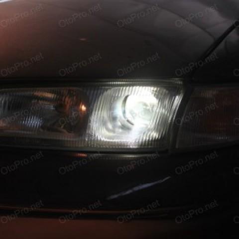 Độ đèn bi xenon, projector cho xe Mazda 626