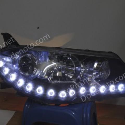 Độ dải LED mí Oblock cho xe Mitsubishi Lancer