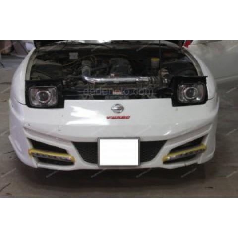 Độ bi xenon, projector, đèn gầm LED daylight Nissan 240SX