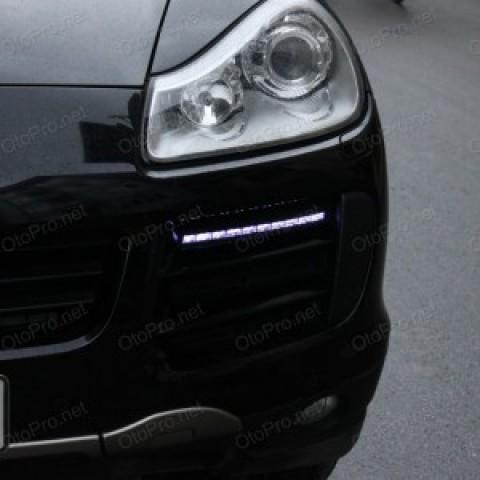 Độ đèn LED Daylight, xi nhan cho xe Porsche