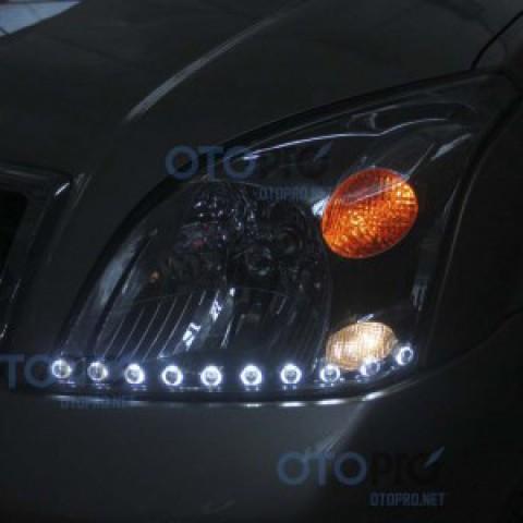 Độ dải LED mí Oblock cho xe Toyota Prado
