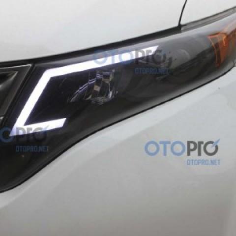 Độ dải LED mí daylight khối cho xe Toyota Venza