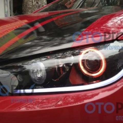 Độ bi xenon, angel eyes, LED mí khối Volkswagen Scirocco
