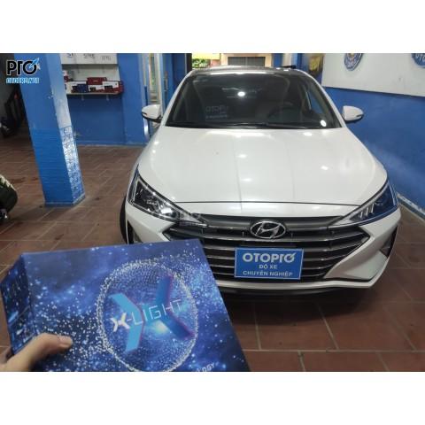 Hyundai Elantra 2021 độ bi laser X Light V20L
