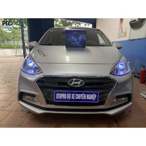 Hyundai i10 2019 độ bi laser Xlight V20L