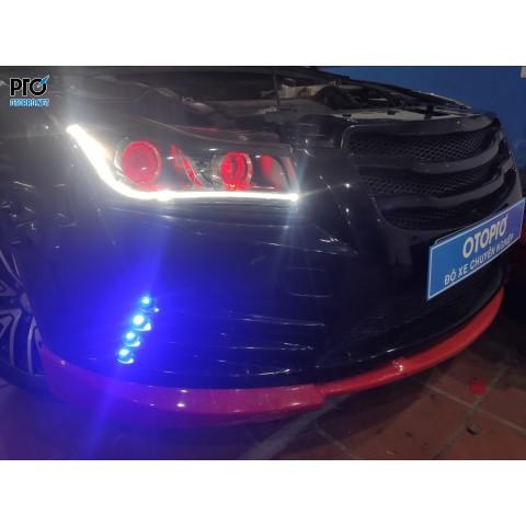 Chevrolet Cruze lên 2 cặp Bi Laser X-Light V20L