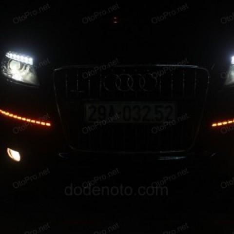 Độ LED nâng đời đèn pha, đèn hậu Audi Q7 đời 2008 lên 2012