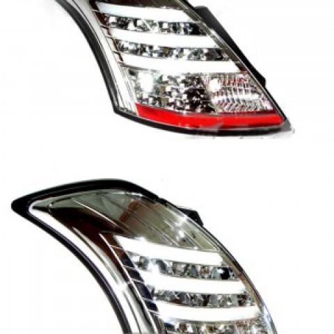 Đèn hậu LED mạ crom cho Suzuki Swift 2012