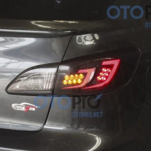 Độ đèn hậu LED khối cho xe Mazda 3S