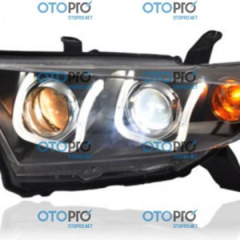 Đèn pha độ LED nguyên bộ cho xe Toyota Highlander 2012-2013