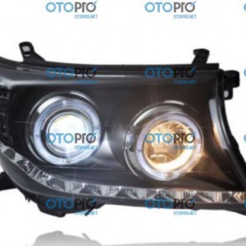 Đèn pha độ LED nguyên bộ cho xe Toyota Land Cruiser 2008-2015 J200