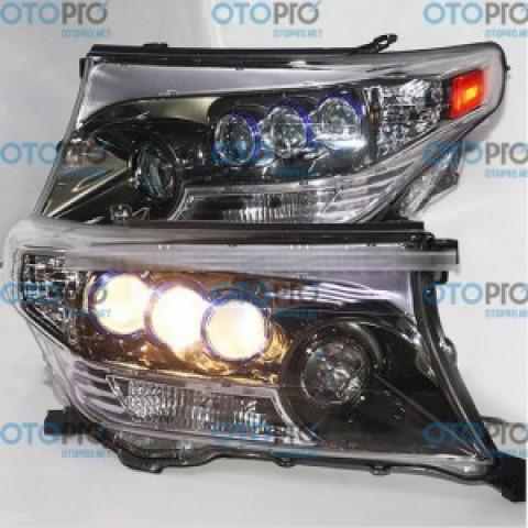 Đèn pha độ LED nguyên bộ xe Toyota Land Cruiser 2008-2013 mẫu DB