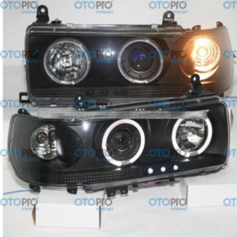 Đèn pha LED nguyên bộ cho xe Toyota Prado 1990-1997 4500 LC80 FJ80