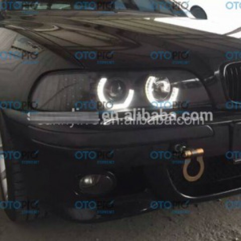 Đèn pha độ LED BMW E39 1995-2003 mẫu JX chóa đen