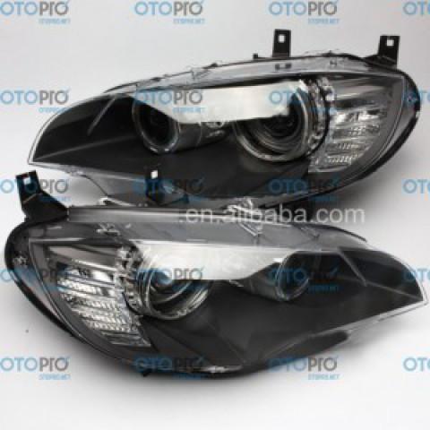 Đèn pha LED 2012-2013 BMW X6 E71 projector có liếc