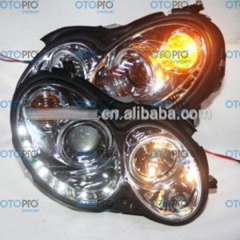 Đèn pha LED Chrome SN cho Mercedes-Benz CLK W209 2004-2009