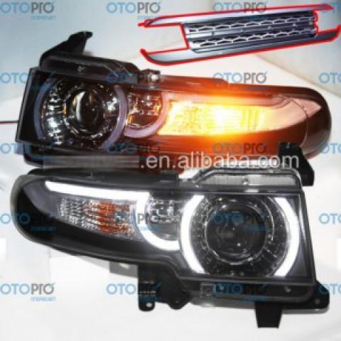 Đèn pha độ LED TOYOTA FJ Cruiser mẫu YZ 2008-2015