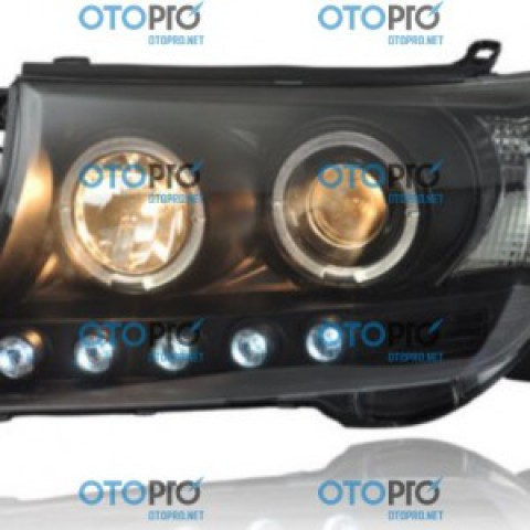 Đèn pha độ LED nguyên bộ cho xe Toyota Land Cruiser 2008-2015 mẫu 2