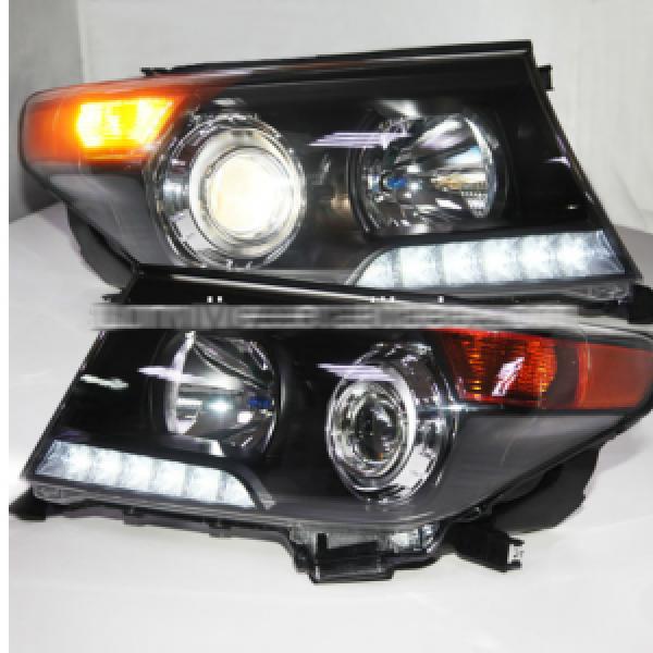 Đèn pha độ LED nguyên bộ xe Toyota Land Cruiser 2008-2013