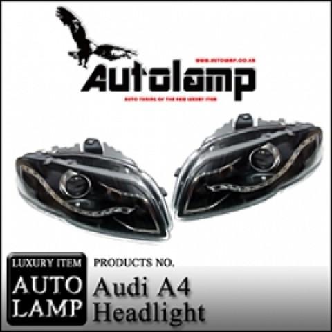 Đèn pha Led nguyên bộ cả vỏ Audi A4