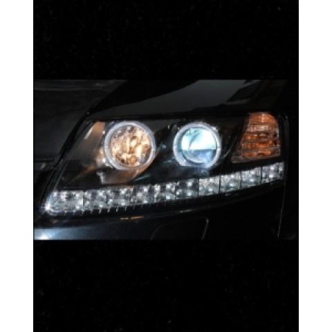 Đèn pha độ LED nguyên bộ cả vỏ cho xe Audi A6 2008