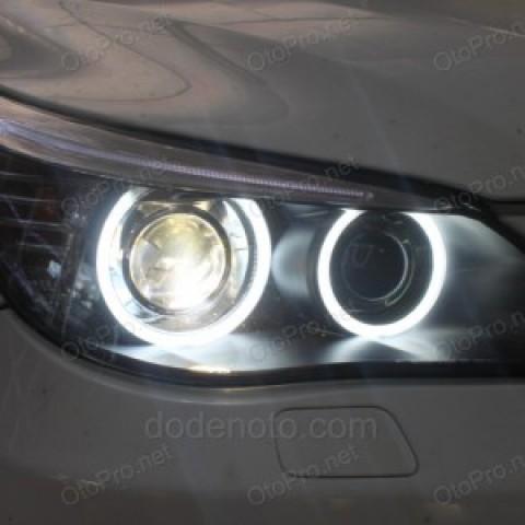 Đèn pha độ LED nguyên bộ cho xe BMW 525i