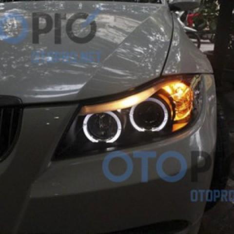 Đèn pha độ LED nguyên bộ cho xe BMW E90 đời 2005-2010