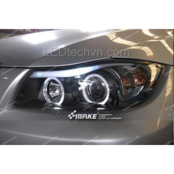 Đèn pha độ LED nguyên bộ cả vỏ cho xe BMW E90 (06-09)