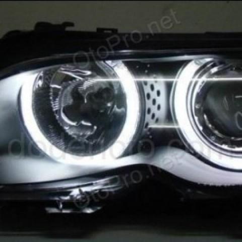 Đèn pha độ LED nguyên bộ cho xe BMW E46 đời 2001-2004