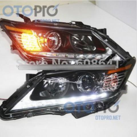 Đèn pha độ LED nguyên bộ xe Camry 2013 mẫu Lexus