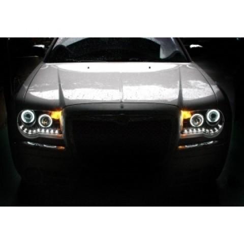 Đèn pha LED nguyên bộ cho xe Chrysler 300C