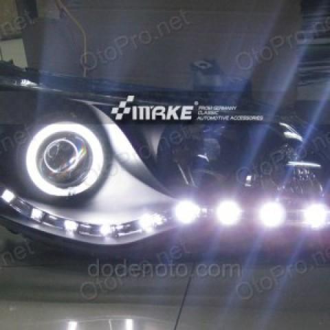 Đèn pha độ Led nguyên bộ cho Honda Civic 2009