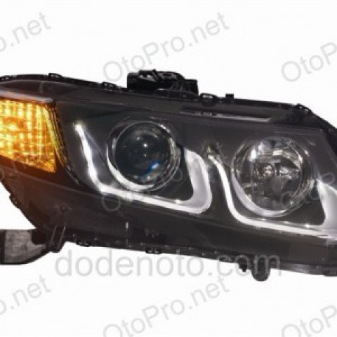 Đèn pha độ LED nguyên bộ cho xe Civic 2011-2015